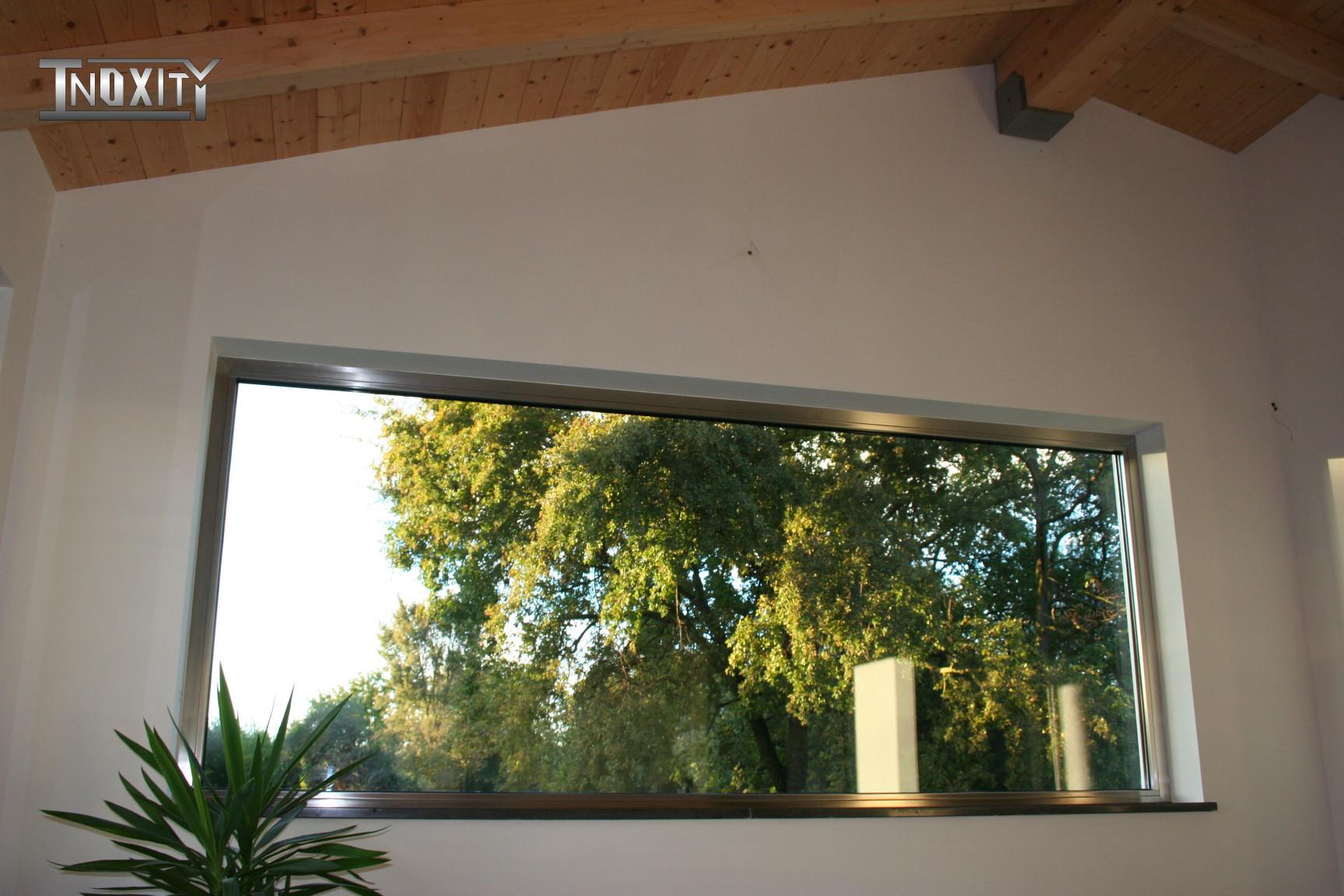 Produzione di serramenti e finestre in acciaio inox inoxity - Serramenti e finestre ...